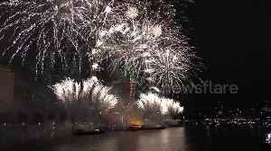 London welcomes 2019 with spectacular firework display on Thames [Video]