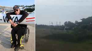 Light Aircraft Crashes On Approach To Runway [Video]