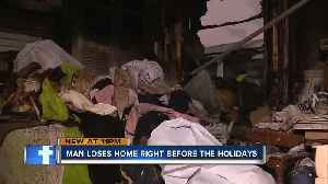 78-year-old loses everything in house fire before Christmas [Video]