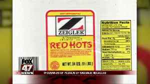 RECALL: Zeigler sausage products may contain metal particles [Video]