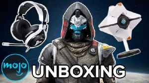 Destiny 2 Unboxing - Cool Stuff From the Bungie Store [Video]