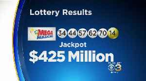 Mega Millions $425 Million Jackpot Numbers Drawn [Video]