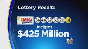 New Year's Day Mega Millions Numbers Drawn [Video]
