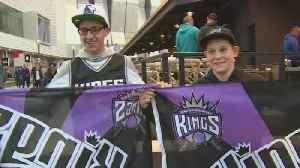 Police Step Up Patrols In Downtown Corridor For Tonight's Kings Game [Video]
