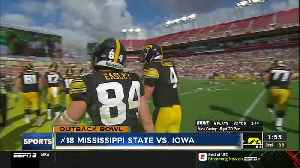 Iowa rallies past No. 18 Mississippi State in Outback Bowl [Video]