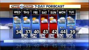Metro Detroit Forecast: Chance of snow possible on Wednesday [Video]