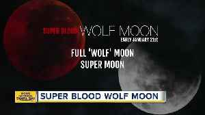 News video: Super Blood Wolf Moon Eclipse to happen January 21