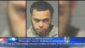 Man Wanted For Stabbing Woman 30 Times, Abandoning Boy In Worcester [Video]