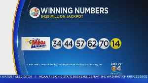 News video: One Ticket Won Mega Millions Jackpot