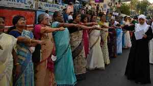 Protests In India Over Ban Of Women In Hindu Temple [Video]