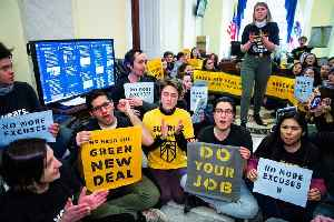 Democrats Need the Green New Deal if They Want the White House: Justice Democrats [Video]