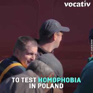Gay Couple Proposes Publicly 100 Times In Social Experiment About Gay Marriage Attitudes In Poland [Video]