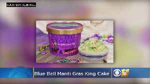 Blue Bell Releases 'Mardi Gras' Ice Cream Flavor To All [Video]