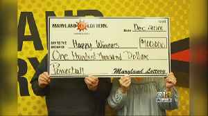 'Happy Winners' Net $100K Powerball Prize Just Before New Year [Video]