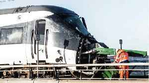 News video: Train Crash In Denmark Claims The Lives Of 6 People, 16 Others Injured