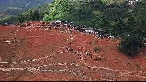 Indonesia resumes rescue work as landslide death toll rises [Video]