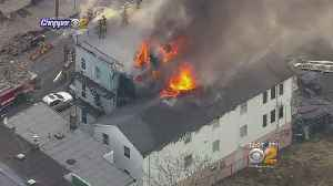 Fire Damages Two Homes In Jersey City [Video]