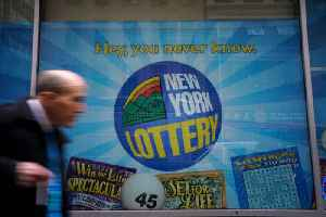 News video: $425 Mega Millions Lottery Ticket Sold in New York