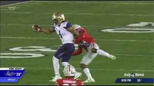 Washington offense gets going too late in loss to Ohio State in the Rose Bowl. [Video]