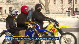 Madison Motorcycle club keeps New Year tradition nearly 50 years strong [Video]