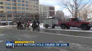 Motorcycle club keeps New Year tradition nearly 50 years strong [Video]