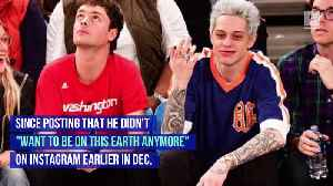 Pete Davidson Performs for First Time After Instagram Cry for Help [Video]