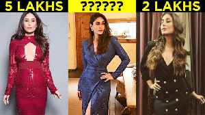 Kareena Kapoor MOST EXPENSIVE Blue Dress For New Year 2019 Vacation [Video]