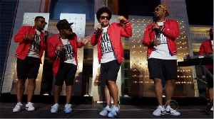 Bruno Mars Gifted Each Of His 7 Band Members A $55,000 Gold Audemars Piguet Watch So They Could 'Bling' Together [Video]