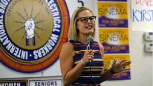 Kyrsten Sinema Is The First Bisexual Person Sworn Into Senate And Arizona's First Female Senator [Video]