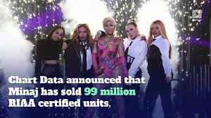 Nicki Minaj May Become First Female Rapper To Sell 100 Million Units [Video]