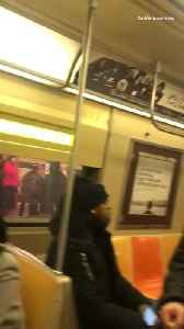Woman screaming in subway [Video]