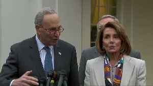 Congressional leaders to return to White House Friday for talks [Video]