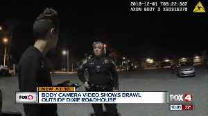 Body cam video shows brawl outside Dixie Roadhouse [Video]