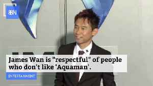 James Wan Doesn't Really Care Whether You Don't Like Aquaman [Video]