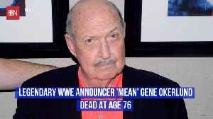 The WWE Loses A Major Legend [Video]