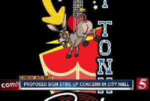 Kid Rock's proposed Broadway sign featuring a butt gets city hall talking [Video]