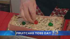 Today Is National Fruit Cake Toss Day [Video]