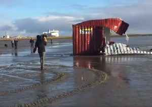 Efforts Underway to Clear Dutch Islands of Washed-Up Shipping Containers [Video]