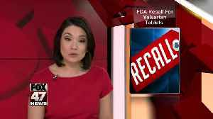 Pharmaceutical company is recalling blood pressure medication [Video]