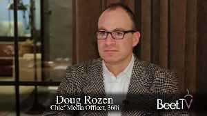 Scale Of Programmatic TV Growing 'Ridiculously Fast': 360i's Rozen [Video]