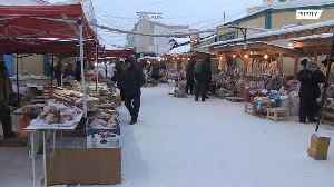 Would you work at -50C? SEE the world's coldest market [Video]