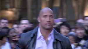 The Rock Flies To Hawaii To Wrap Up 'Hobbs And Shaw' [Video]