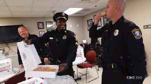 Krispy Kreme Delivers Doughnuts to Mourning Officers [Video]