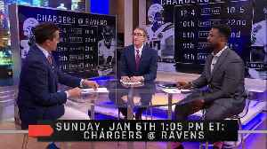 Preview Of The AFC Wild Card Matchup Between The Chargers and Ravens [Video]