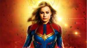 New 'Captain Marvel' Pic Shows Off Mohawk [Video]