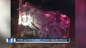 Deputies: State law enforcement officer charged with DUI after crashing into tree on I4 [Video]