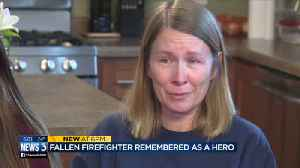 Firefighter killed in crash told fiancee 'I just just want to be remembered as a hero' [Video]