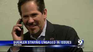 Buehler plans to stay engaged in Oregon issues [Video]