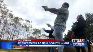 Security guard requirements [Video]