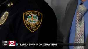 Utica police officer charged with DWI [Video]